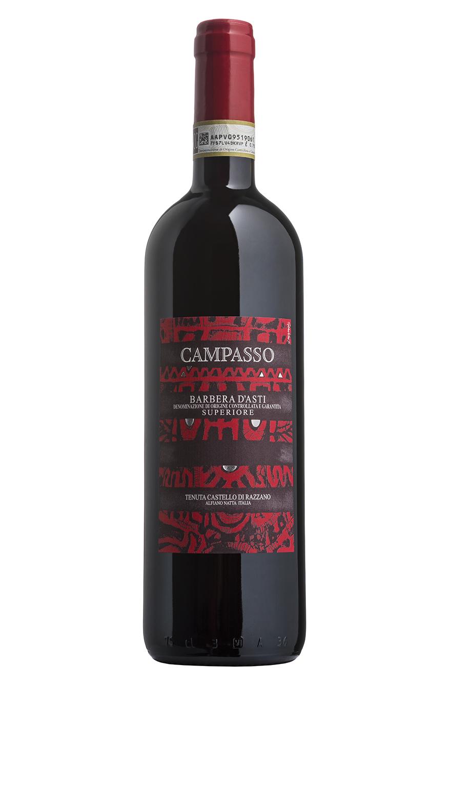 CAMPASSO - Barbera d'Asti superiore - Castello di Razzano