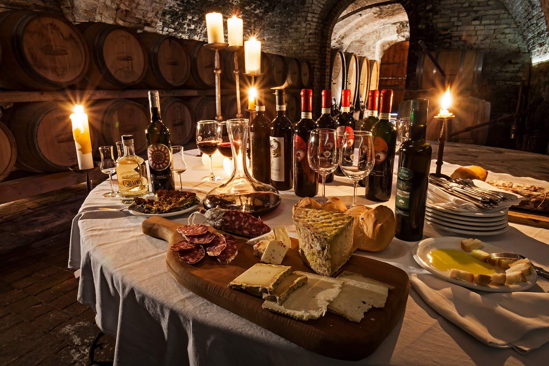 Degustazioni vini - Castello di Razzano